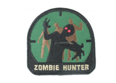 MM Zombie Hunter Velcro Patch ( Forest )