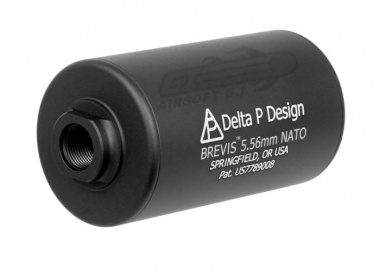 Madbull Delta P Design Brevis Barrel Extension ( Black )