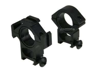 NC Star High Profile See-Through Ring Mounts w/ RIS