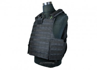 * Discontinued * Condor / OE TECH Tear Away Plate Carrier ( Black / Tactical Vest )