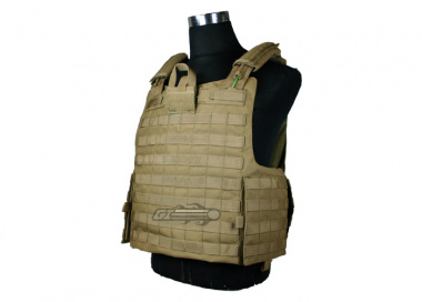 * Discontinued * Condor / OE TECH Tear Away Plate Carrier ( Tan / Tactical Vest )