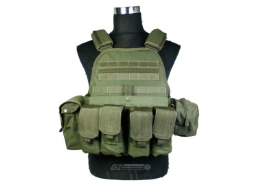 Condor / OE TECH Plate Carrier Combat Set ( OD / Tactical Vest ) ONLINE ONLY