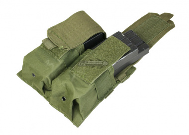 Condor Outdoor MOLLE Dual M4 / M16 Magazine Pouch ( OD )