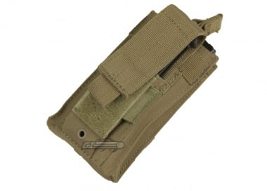 Condor Outdoor MOLLE Single Kangaroo Magazine Pouch ( TAN )