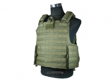* Discontinued * Condor / OE TECH Tear Away Plate Carrier ( OD / Tactical Vest )