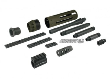 Madbull JP Rifle Conversion Kit OD ( SHORT )