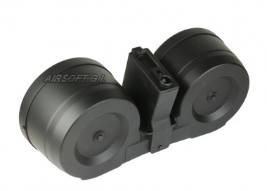 UK Arms 2500rd M4 / M16 High Capacity AEG C-Mag ( Motorized )