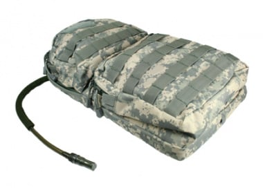* Discontinued * Condor / OE TECH MOLLE Hydration Carrier w/ Zipper Pockets ( ACU )