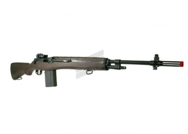G&G Full Metal / Wood Stock M14 AEG Airsoft Gun
