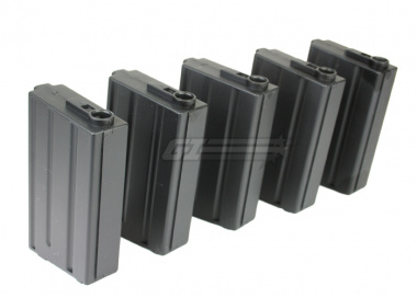 King Arms 85rd M4 / M16 Mid Capacity AEG Magazine ( 5 Pack / VN Style )
