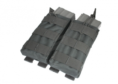Condor Outdoor MOLLE Dual Open Top M4 / M16 Magazine Pouch ( Black )