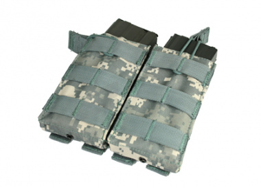 Condor Outdoor MOLLE Dual Open Top M4 / M16 Magazine Pouch ( ACU )