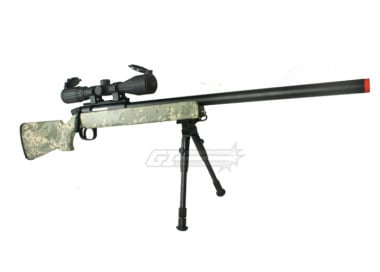 UTG Full Metal Gen. 5 M324S Pro Bolt Action Sniper Rifle Airsoft Gun ( ACU )