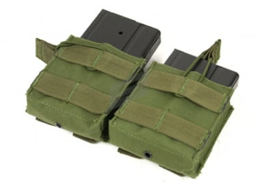 Condor Outdoor MOLLE Dual Open Top M14 Magazine Pouch ( OD )