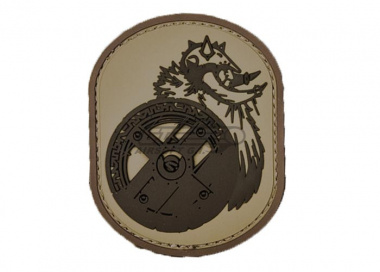 MM Berserker PVC Patch ( Desert )
