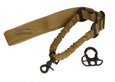 Swiss Arms Single Point Bungee Sling for M4 ( Dark Earth )