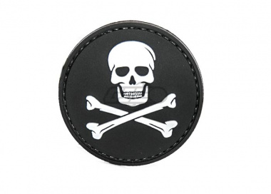 5ive Star Gear Jolly Roger PVC Patch