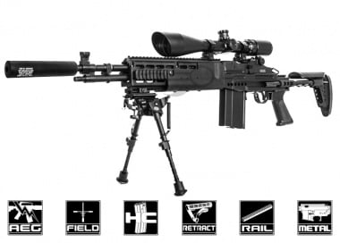 Classic Army Full Metal M14 EBR AEG Airsoft Gun ( Battlefield 4 Inspired )