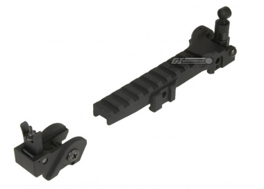 CA Long Rail & Flip Up Sight for MK36 Series