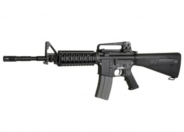 CA Armalite Full Metal Blow Back M15A4 SPC AEG Airsoft Gun