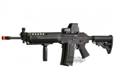 Full Metal SIG 556 AEG Airsoft Gun Licensed by Cybergun