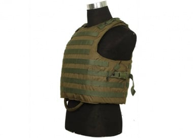 HSS Releasable Plate Carrier ( OD / Tactical Vest )