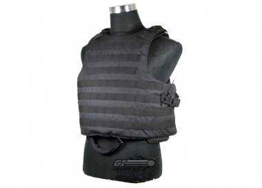 J-Tech Releasable Raider Plate Carrier ( Black / Tactical Vest )