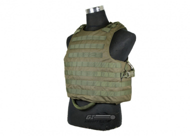 J-Tech Releasable Raider Plate Carrier ( OD / Tactical Vest )