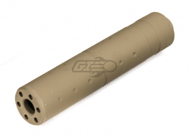 Lancer Tactical 30 X 155mm Barrel Extension ( 14mm CCW / Tan )