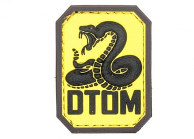 MM DTOM PVC Patch ( Full Color )