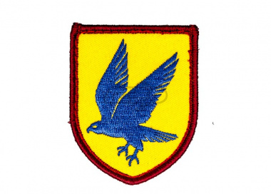 MM Blue Falcon Patch ( Full Color )