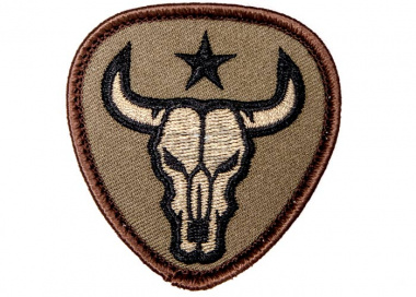 MM Bull Skull Patch ( Forest )