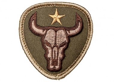 MM Bull Skull Patch ( Multicam )