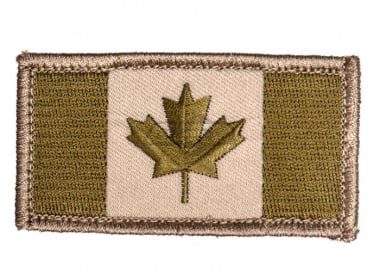 Canadian Flag Patch ( Arid )