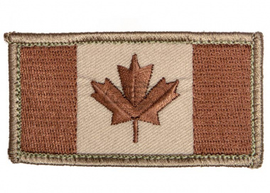 Canadian Flag Patch ( Desert )