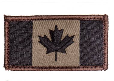 Canadian Flag Patch ( Forest )