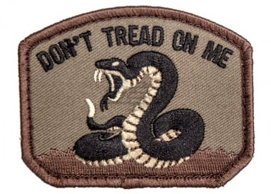 MM Don't Tread Patch ( Forest )