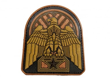 MM Industrial Eagle PVC Patch ( Bronze )