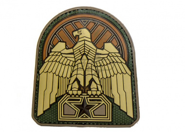 Industrial Eagle PVC Patch ( Multicam )