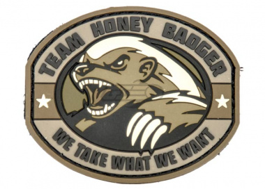 MM Honey Badger PVC Patch ( Desert )