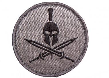 Spartan Helmet Patch ( ACU )
