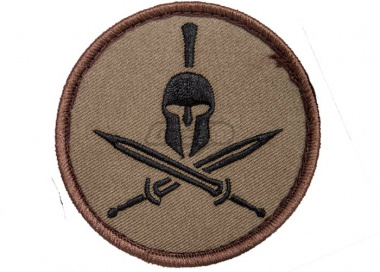MM Spartan Helmet Patch ( Forest )