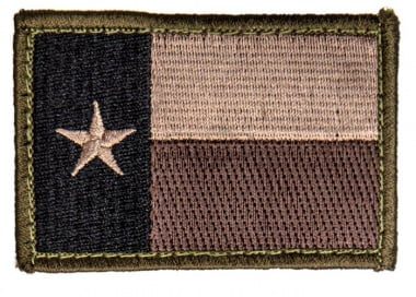 MM Texas Flag Patch ( Forest )