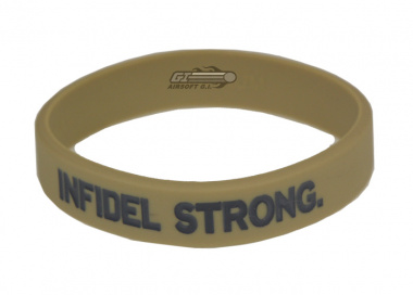 MM Infidel Strong Band ( Desert w/ Grey Text ) Medium