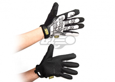 Mechanix Wear Grip Gloves ( Black & Gray / Large )