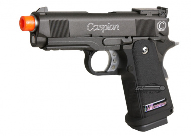 (Discontinued) Caspian Full Metal 1911 3.8 GBB Airsoft Gun