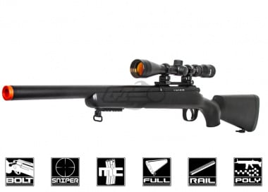 WELL MB02B VSR-10 Bolt Action Sniper Rifle Airsoft Gun ( Black )