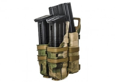 Emerson High Speed Quick Single Rifle/Double Pistol Pouch ( Tac )