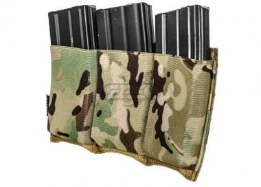 Lancer Tactical Triple M4 Magazine Pouch ( Camo )