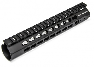 "APS Conception Series Evolution Tech 10"" KeyMod Hand Guard in Black ( Black )"